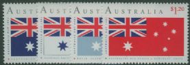 AUS SG1275-8 90th Anniversary of Australian Flag, Australia Day set of 4